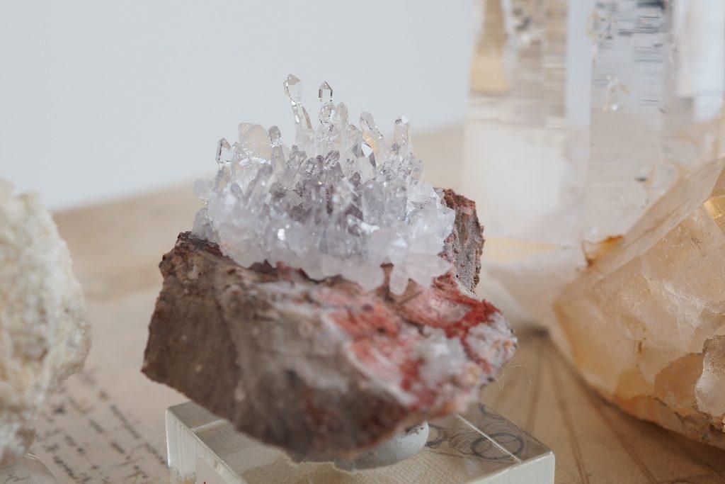 小さなセプター水晶