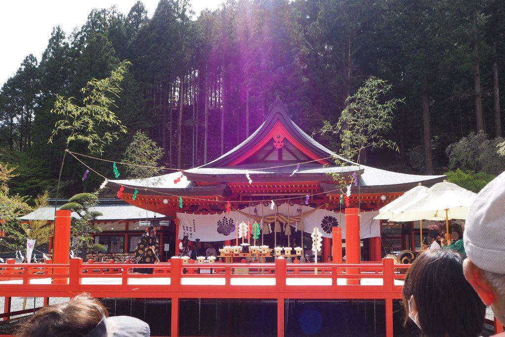金櫻神社 演舞