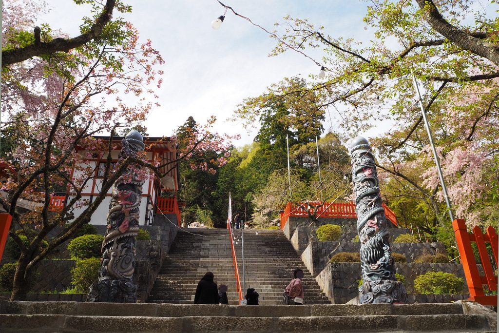 金櫻神社 昇竜・降竜