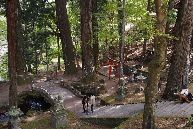 金櫻神社 境内