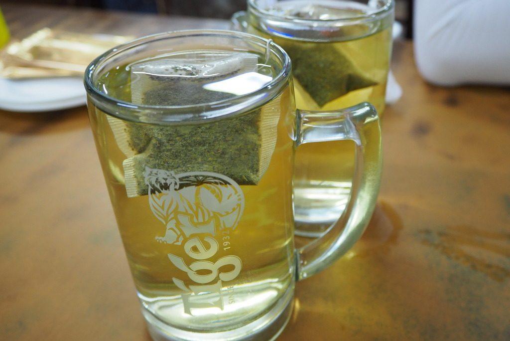 ビールじゃなくて緑茶