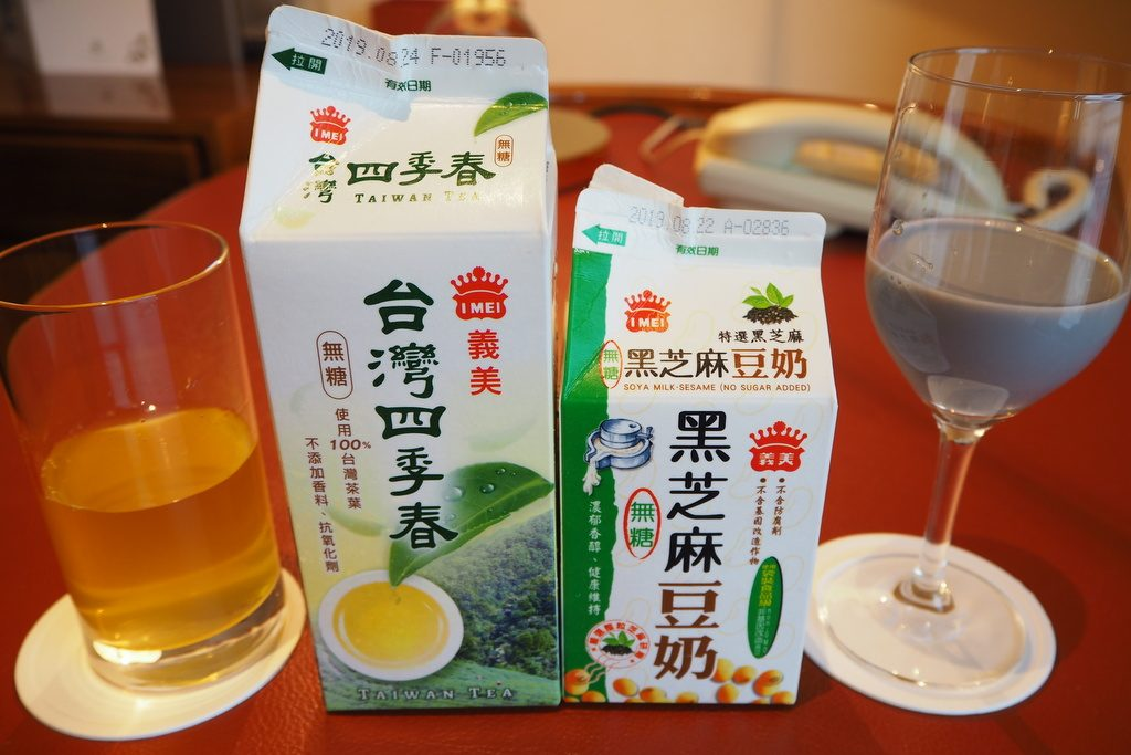 義美ドリンク(台湾茶うまい!)