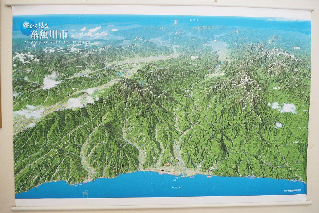 糸魚川鳥観図