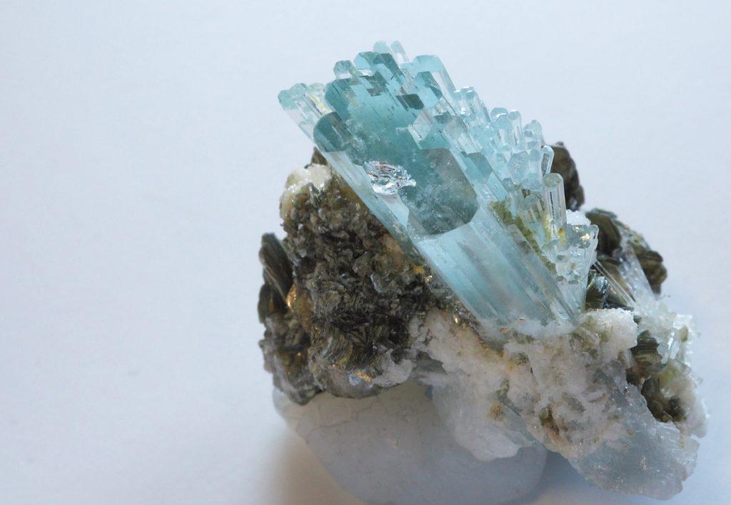 青いアクアマリン